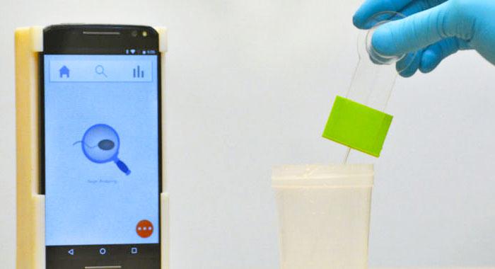 Obrázek: Nový přístroj zHarvardu, který měří mužskou plodnost pomocí smartphonu