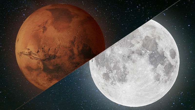 Obrázek: NASA poletí na Mars: Trump dal zelenou dobytí rudé planety