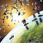 Obrázek: Vesmírný odpad je hrozbu nejen pro lidstvo, ale i pro funkční družice