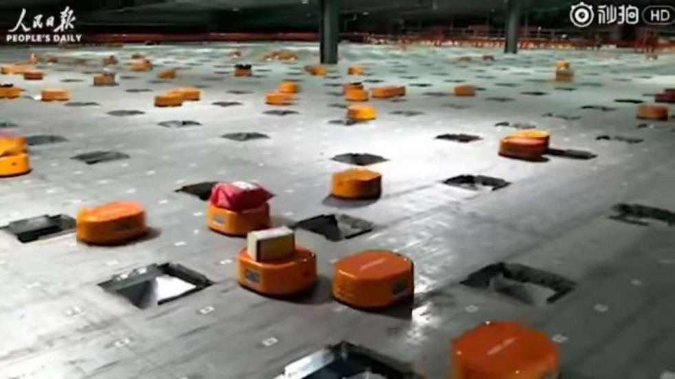 Obrázek: Robotizace je budoucností pošty: Jak to vypadá, když roboti třídí 200 000 balíků denně?