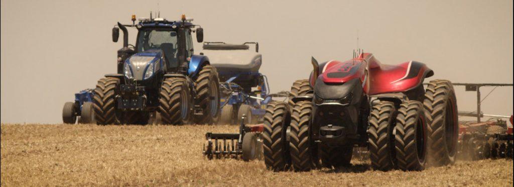 Obrázek: Farmáři budoucnosti? Sedí za monitory a úrodu sklízí stiskem tlačítka