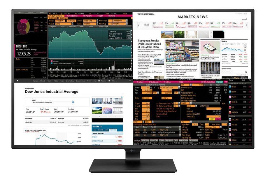 Obrázek: Metrový displej s 4K a čtveřicí vstupů: Jediný panel od LG je jako 4 monitory naráz