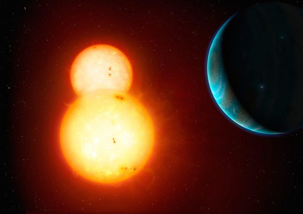Obrázek: Slunce mělo hvězdné dvojče Nemesis, odtrhlo se a teď jej astronomové hledají