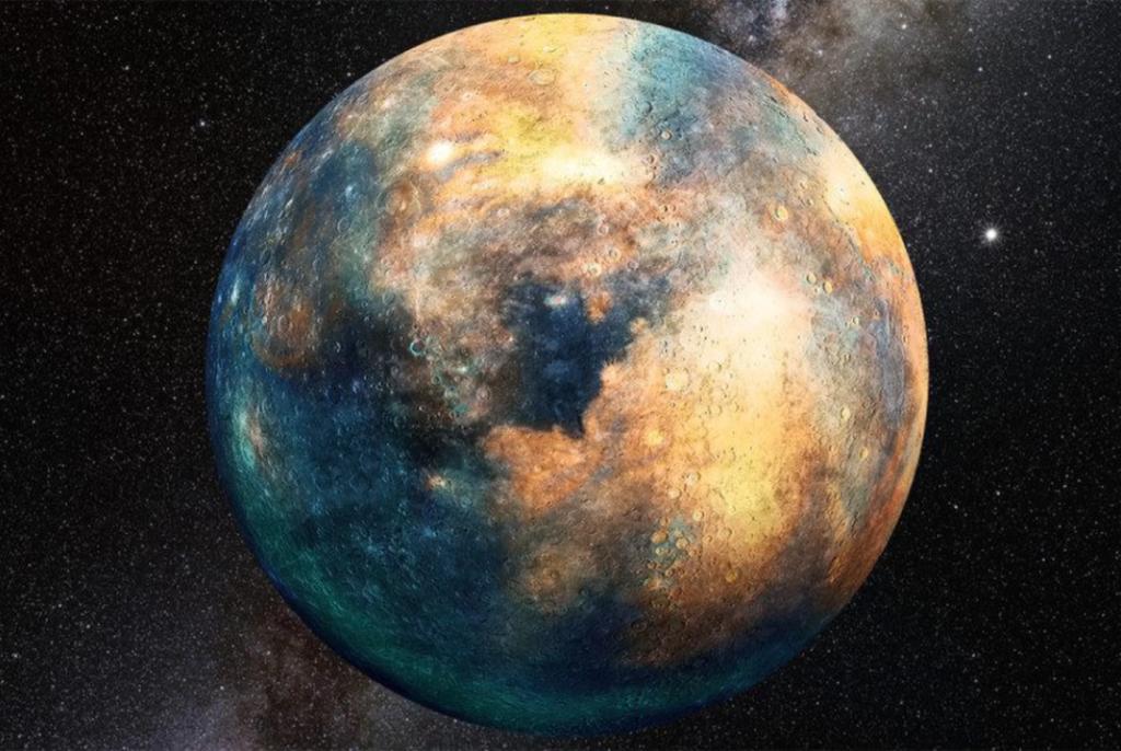 Obrázek: Zatoulaná 10. planeta Sluneční soustavy se schovává za Plutem