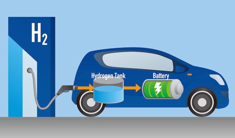 Obrázek: Konec drahého tankování? Solární nátěr budoucnosti mění vodu na palivo pro automobily