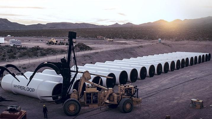 Obrázek: Virgin Hyperloop One získal další peníze, je blíž snům o novém způsobu dopravy