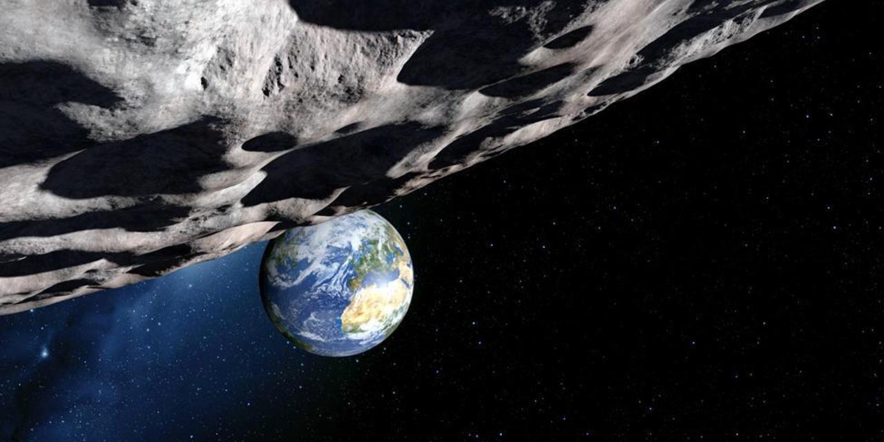 Obrázek: Obří asteroid proletí nebezpečně blízko kolem Země, srážka není vyloučena