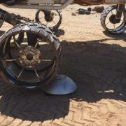 Obrázek: Sondě na Marsu se rozpadají kola, NASA ji vylepšila na dálku