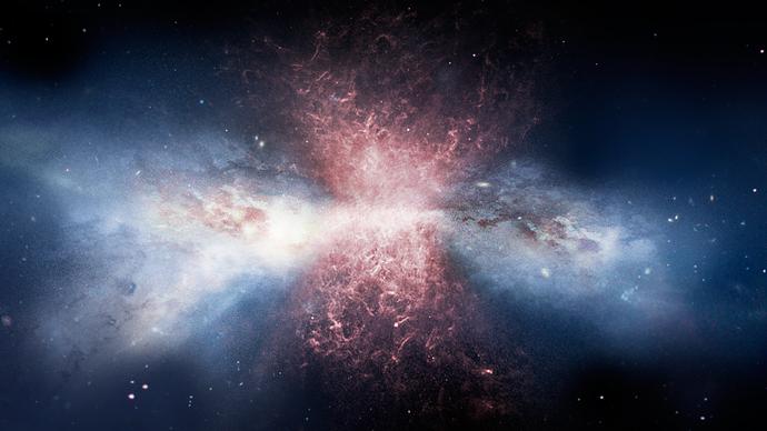 Obrázek: Ne všechno se tvořilo na Zemi, polovina věcí kolem nás pochází zjiných galaxií