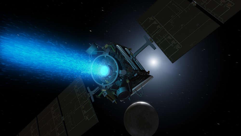 Obrázek: NASA slaví úspěch: Rychlý iontový motor jednoho dne dopraví lidstvo na Mars