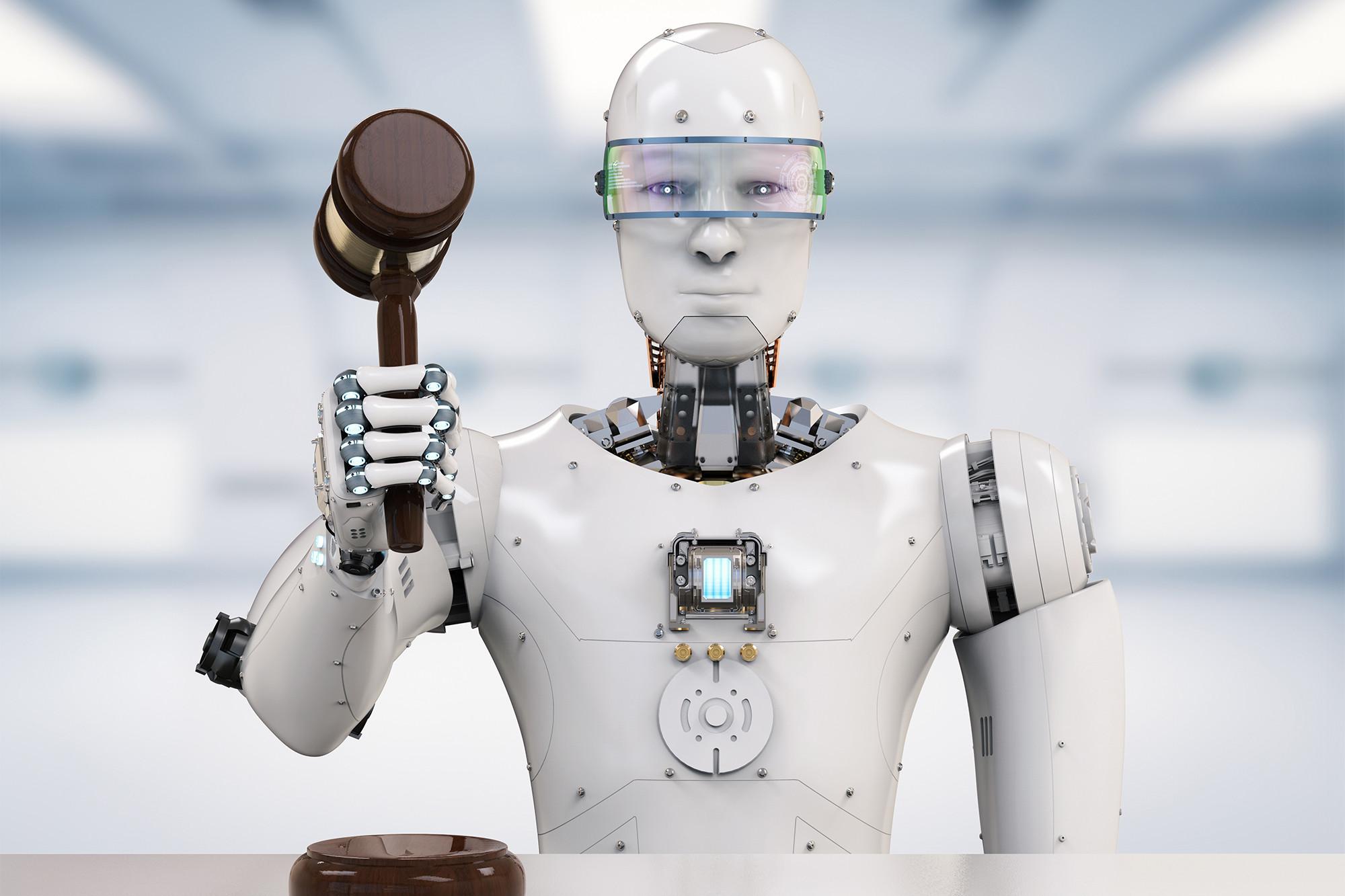 Obrázek: Revoluce v soudích síních: Robotičtí právníci soudí spravedlivěji
