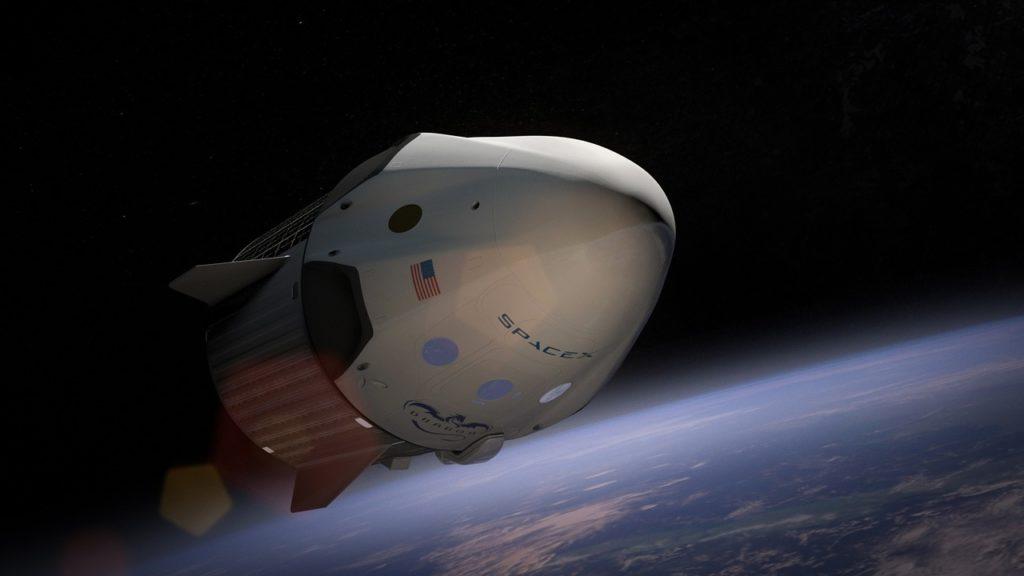 Obrázek: Výlet do vesmíru. Plány SpaceX na první plně civilní let do vesmíru pokračují