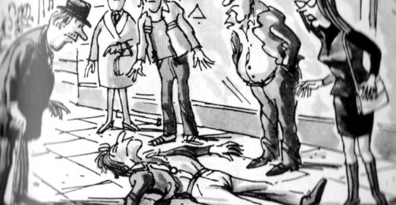 Obrázek: Sociální flákání a efekt přihlížejícího: Proč je skupina oproti jedinci až nebezpečně nevýkonná?