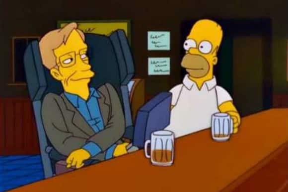 Obrázek: Stephen Hawking ve světě showbyznysu: Simpsonovi, Star Trek i Teorie velkého třesku