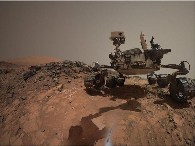 Obrázek: 2 000 dní na Marsu: Od prvních obrázků vozítka Curiosity po objev vody