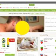 """Obrázek: E-shop Rohlík.cz napadli hackeři: Hlavní stránku obchodu s potravinami """"zdobila"""" pornografie"""