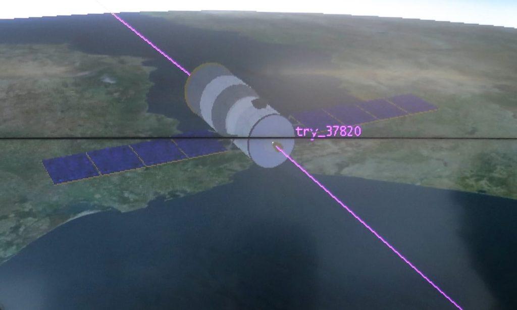 Obrázek: Tchian-kung 1 bezpečně dopadl na zem, Čína pokračuje ve vesmírném programu