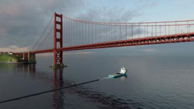 Obrázek: Gigantická čistička oceánů velká jako fotbalové hřiště se chystá vyplout na moře