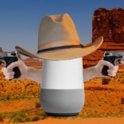"""Obrázek: """"OK Google, aktivuj zbraň"""" - hlasový asistent uposlechl příkaz a vystřelil"""