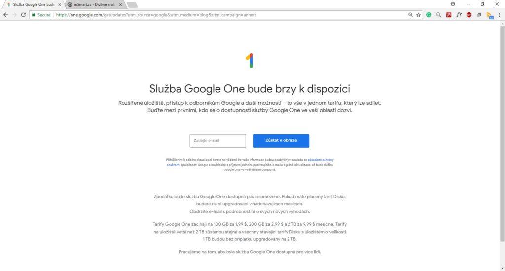 Obrázek: Google One: Cloudové úložiště Google Drive se letos výrazně změní, 15 GB zdarma zůstane