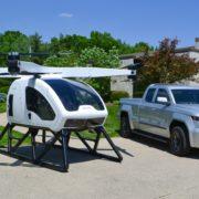 Obrázek: Helikoptéra a dron na benzín v jednom: Úspěšný první let dronu s autopilotem a lidskou posádkou uvnitř