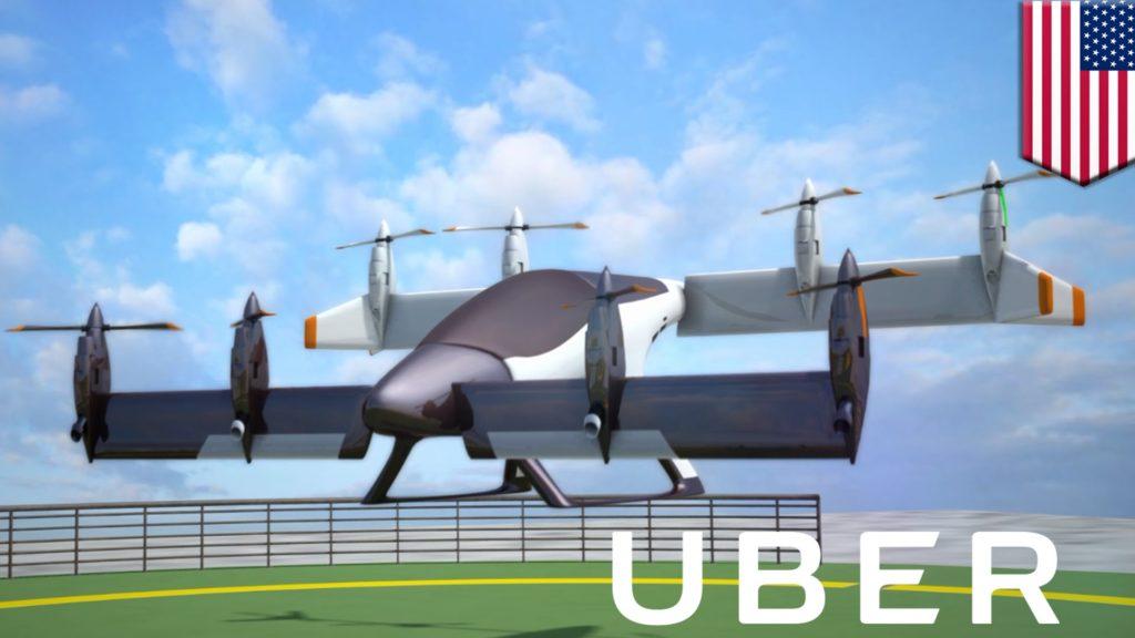 Obrázek: Uber pokračuje v testování létajících taxi, tentokrát v Austrálii