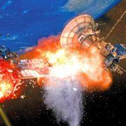 Obrázek: Rusko pracuje na laseru, který dokáže vypařit objekty na oběžné dráze