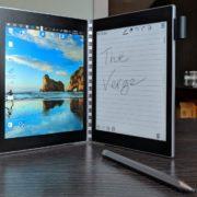 Obrázek: Intel představil tablet a čtečku v jednom, je skládací a má dva displeje