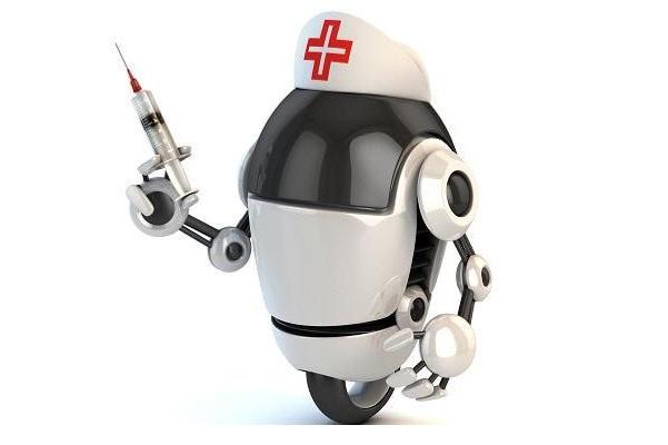 Obrázek: Roboti vpřetížených nemocnicích? Pandemie testuje hranice lékařů, vbudoucnu může pomoct technika