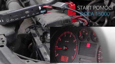 Obrázek: Jak nastartovat auto s vybitou baterií? Chytrá powerbanka nabije mobil, notebook a nastartuje motor