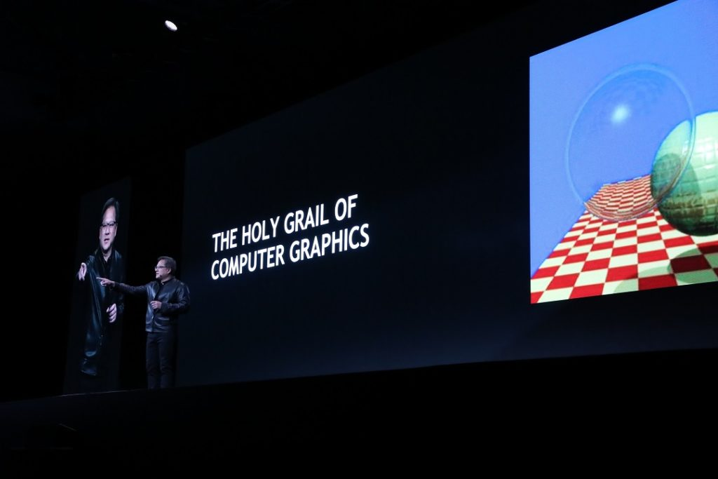 Obrázek: Nvidia ohlásila nové GPU. Jsou nadupané a do budoucna slibují hyperrealistickou grafiku