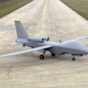 Obrázek: Vzdušná podpora: USA plánuje využít obří letky bezpilotních letounů kpodpoře vojenských misí