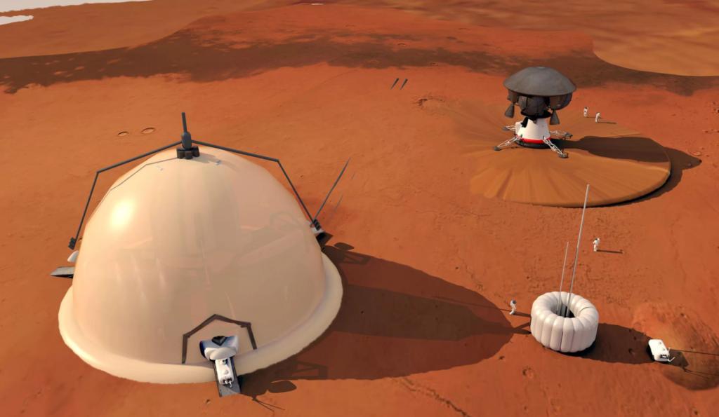 Obrázek: Iglú na Marsu s 3 metry tlustými stěnami: Vědci mají novou vizi základny na rudé planetě