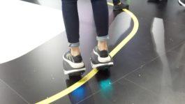 Obrázek: Elektrické brusle fungují jako Segway - stačí stát a myslet na to, kam pojedete