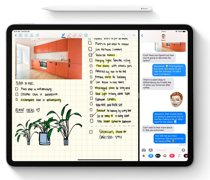 Obrázek: Upgrade vás vyjde draho: Pero Apple Pencil z předchozí generace nefunguje na nových iPadech