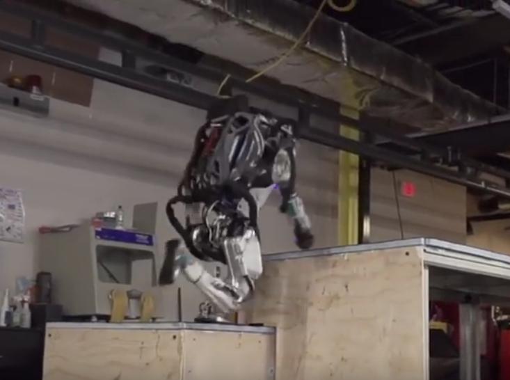 """Obrázek: Nové video od Boston Dynamics ukazuje """"jednoduchý"""" robotický parkour"""