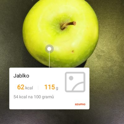 Obrázek: Kuchyňská váha netřeba? Nový smartphone pozná váhu i počet kalorií v jídle díky 3D fotoaparátu