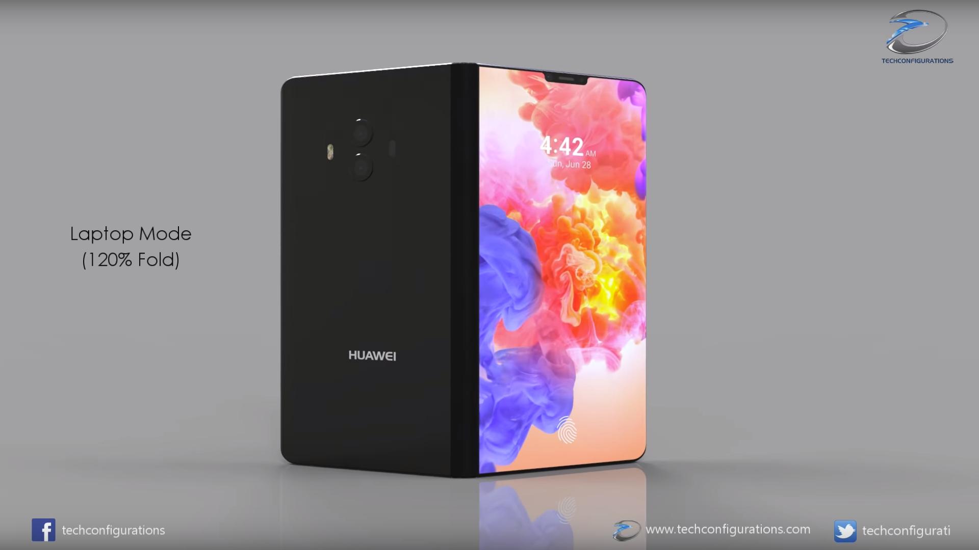 Obrázek: Prodáváme 100000 ohebných smartphonů měsíčně, tvrdí Huawei. Samsung je na tom podobně