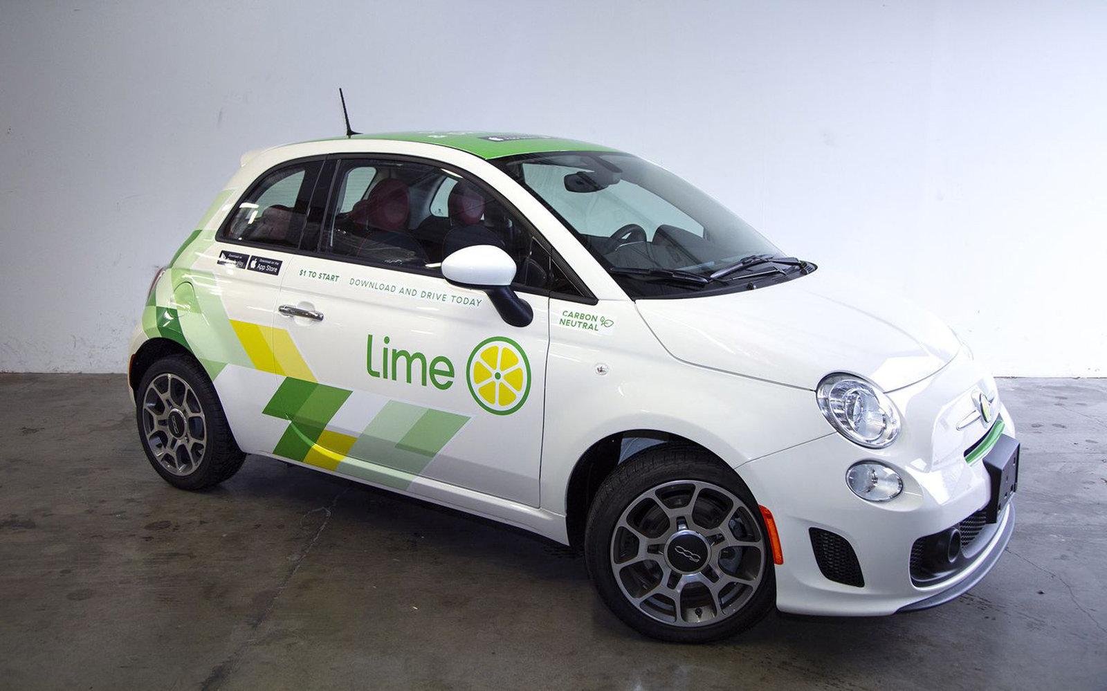 Obrázek: Elektrické koloběžky byly jen začátek: Lime začíná půjčovat auta a půjčíte si je kliknutím v mobilu
