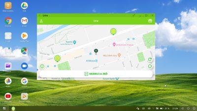 Obrázek: Nejlepší Android současnosti nahradí po připojení k monitoru počítač: Desktop mód Huawei Mate 20 Pro v testu