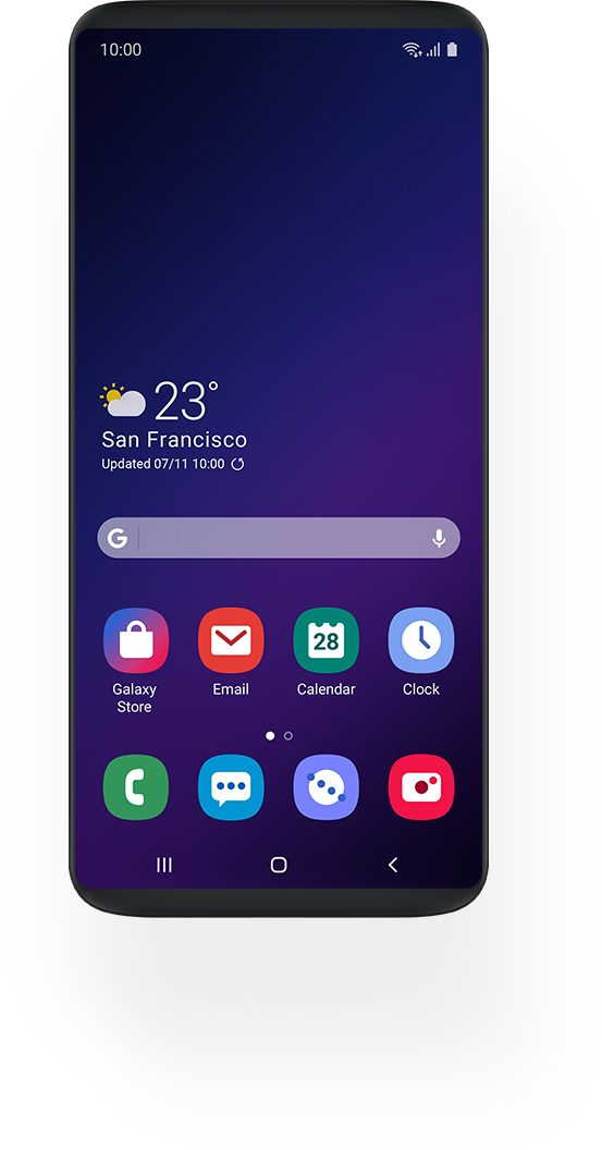 Obrázek: Samsung zjednoduší vzhled svého Androidu, vydává se cestou minimalismu