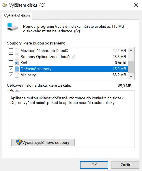 Obrázek: Tři jednoduché a rychlé kroky pro optimalizaci počítače nebo laptopu s Windows 10