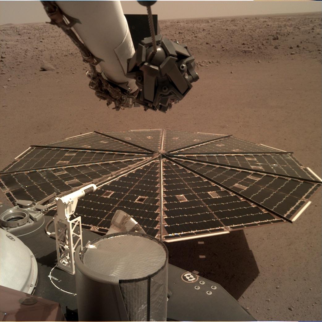 Obrázek: Poslechněte si zvuky z Marsu: Poprvé v historii můžeme slyšet vítr na rudé planetě