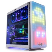 Obrázek: Chytrá PC skříň In Win 307 má místo předního panelu LED displej