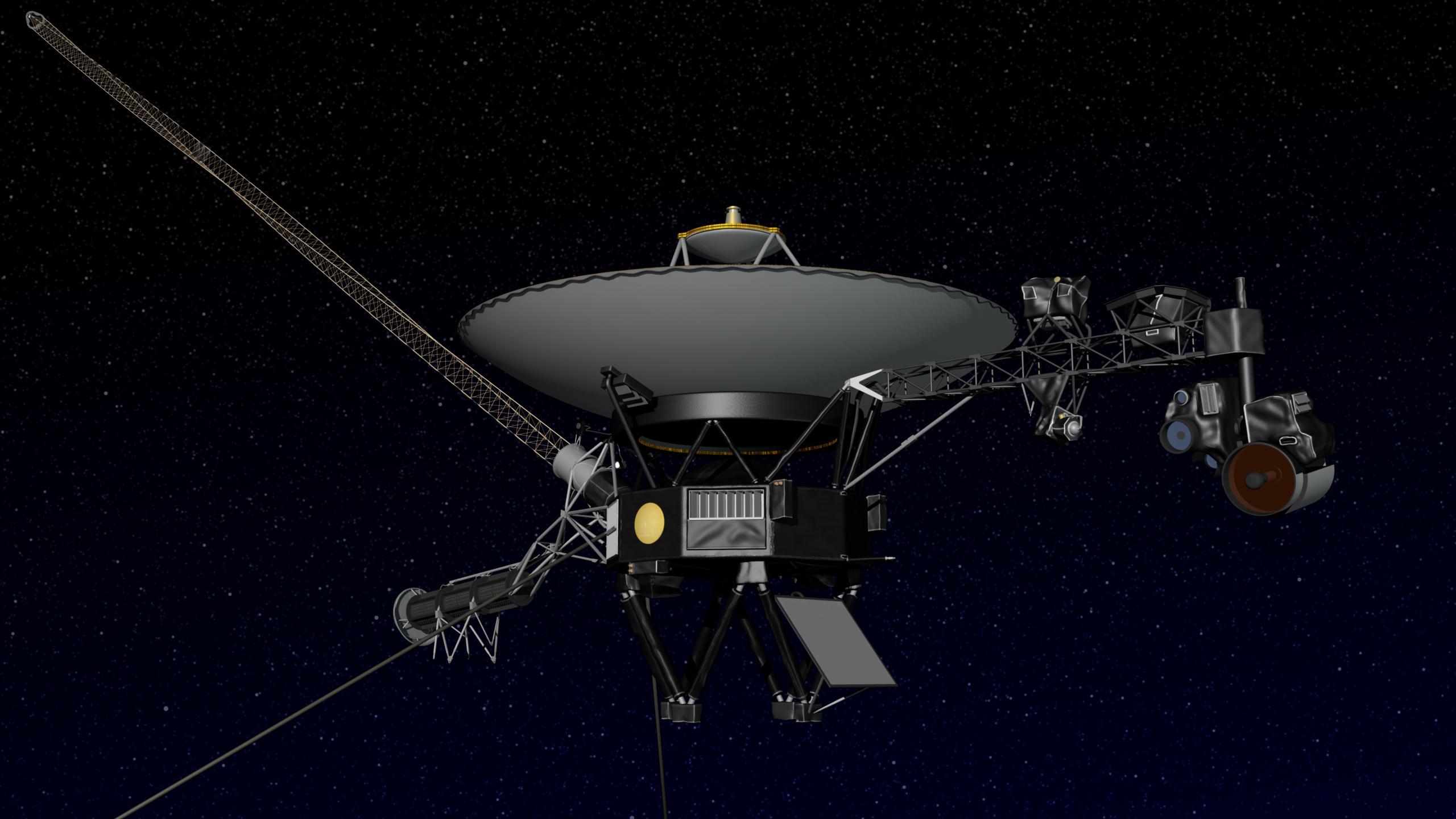 Obrázek: Do mezihvězdného prostoru a dál: Druhá sonda v historii lidstva pronikla za hranice heliosféry