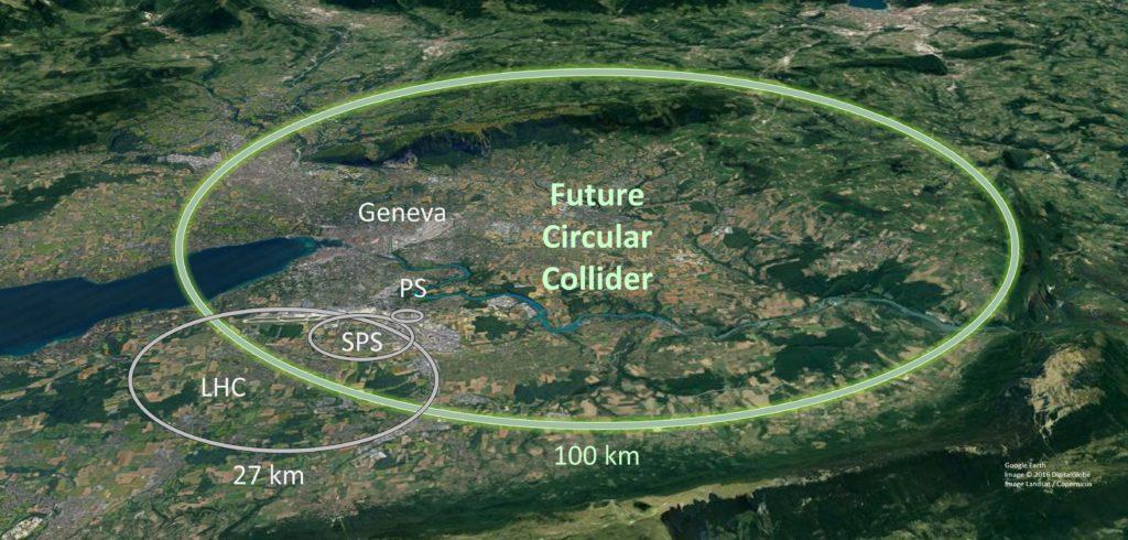 Obrázek: CERN postaví nový urychlovač částic: stavba potrvá desetiletí, stát bude desítky miliard euro
