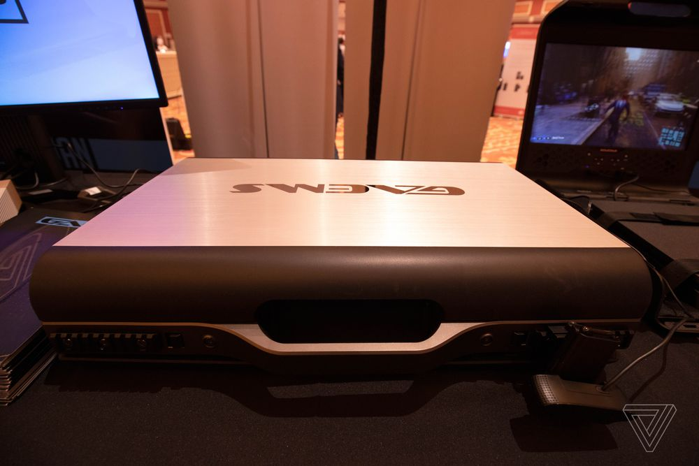 Obrázek: Obří kovový kufr pro streamování her na cestách. To není vtip, ale novinka od GAEMS