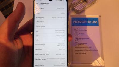 Obrázek: Honor 10 Lite má dewdrop displej a 24MPx selfie kameru: Krasavec potěší nízkou cenou