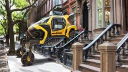 Obrázek: Automobil od Hyundai umí chodit, nevystraší jej ani skály a místa bez silnic