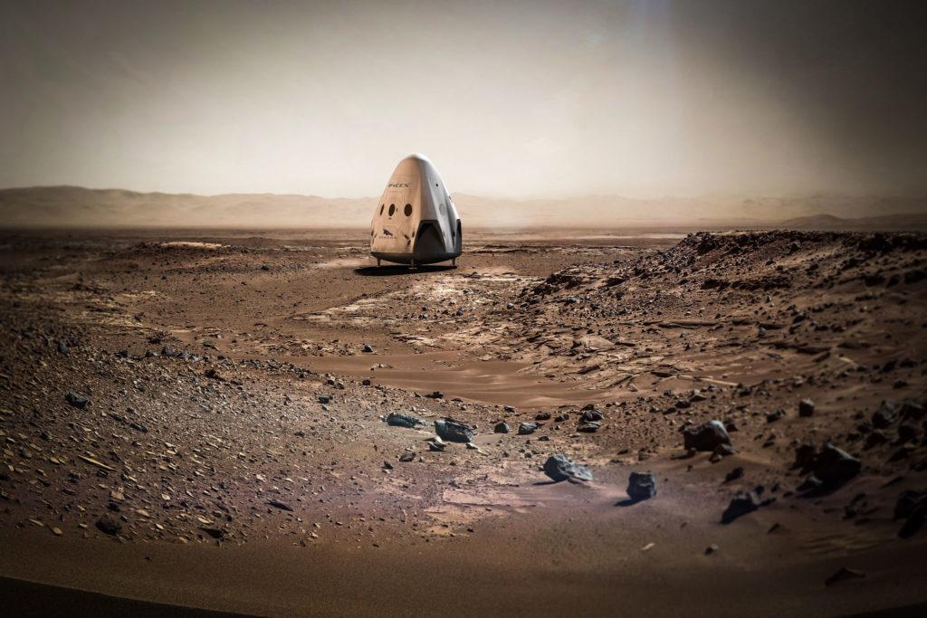Obrázek: Cesta na Mars bude stát jen 100 tisíc dolarů, věří Elon Musk